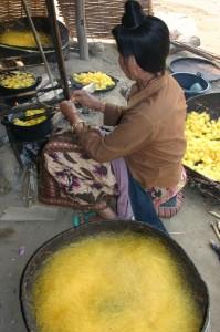 Phongsali 計畫:村內婦女學習新技巧,發展新事業。