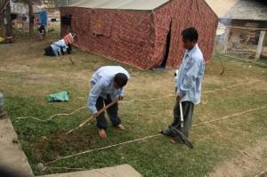 "Phongsali計畫:幾個星期甚至幾個月的時間中,在偏遠的村莊,帳棚是我們的""家外之家"""