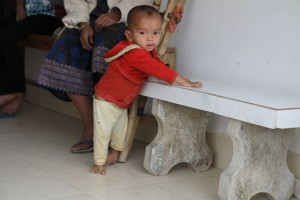 Few options for Lao children born with birth defects.  Fortunately there is hope at C.O.P.E