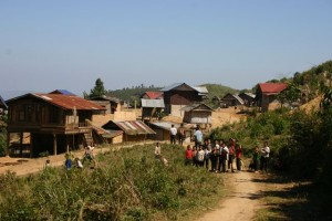 Project Phongsali 2011: We visit several locales to determine which villages we will serve this year.