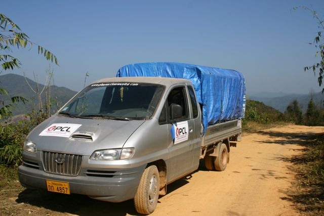 Project Phongsali 2011: With transport secured, our team and equipment will soon head for Phongsali Province.