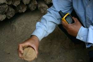 "Project Phongsali 2011: We teach children: ""If you don't know what it is, don't touch.  It could be UXO."""