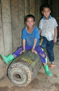Project Phongsali 2011: Among children killed or injured by ordnance, far more victims are boys.  What is it about boys?