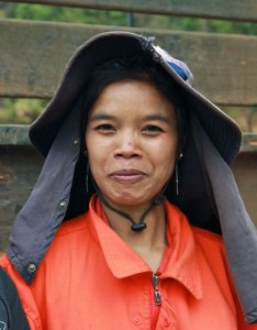 Project Sekong 2012: Meet our team. Pang Xi sends her hard-earned pay home to mother.