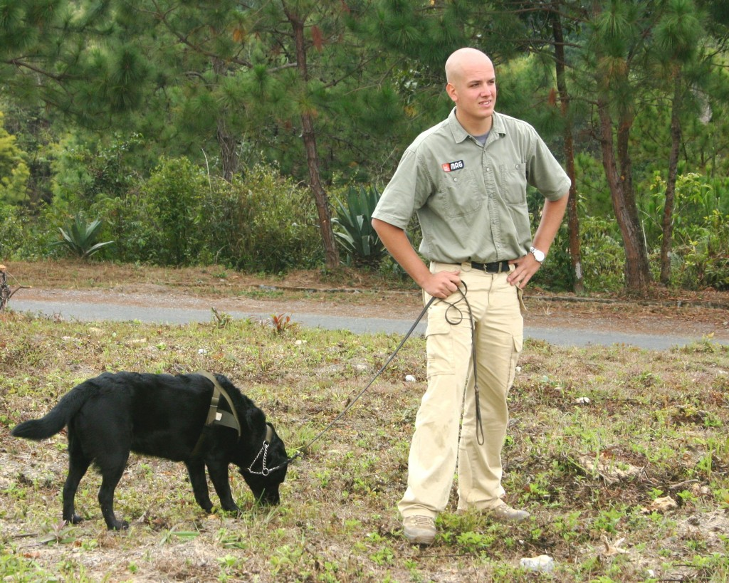 Project Sekong 2013: Bomb sniffing dogs may return to Laos for another trial