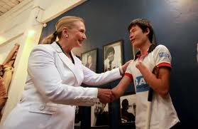 Project Sekong 2013: A Young Accident Victim Gets To Personally Share His Story With Secretary Clinton