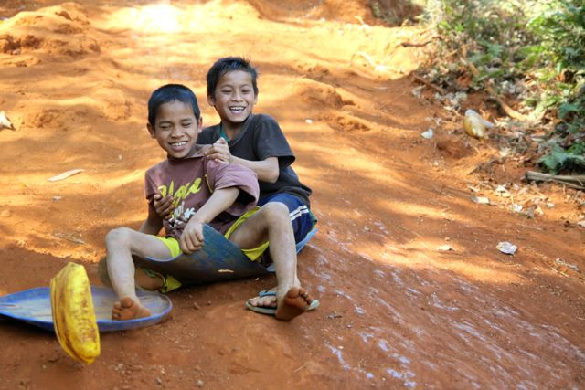 Project Sekong 2014: In a land with many heartbreaks Lao children still have fun!